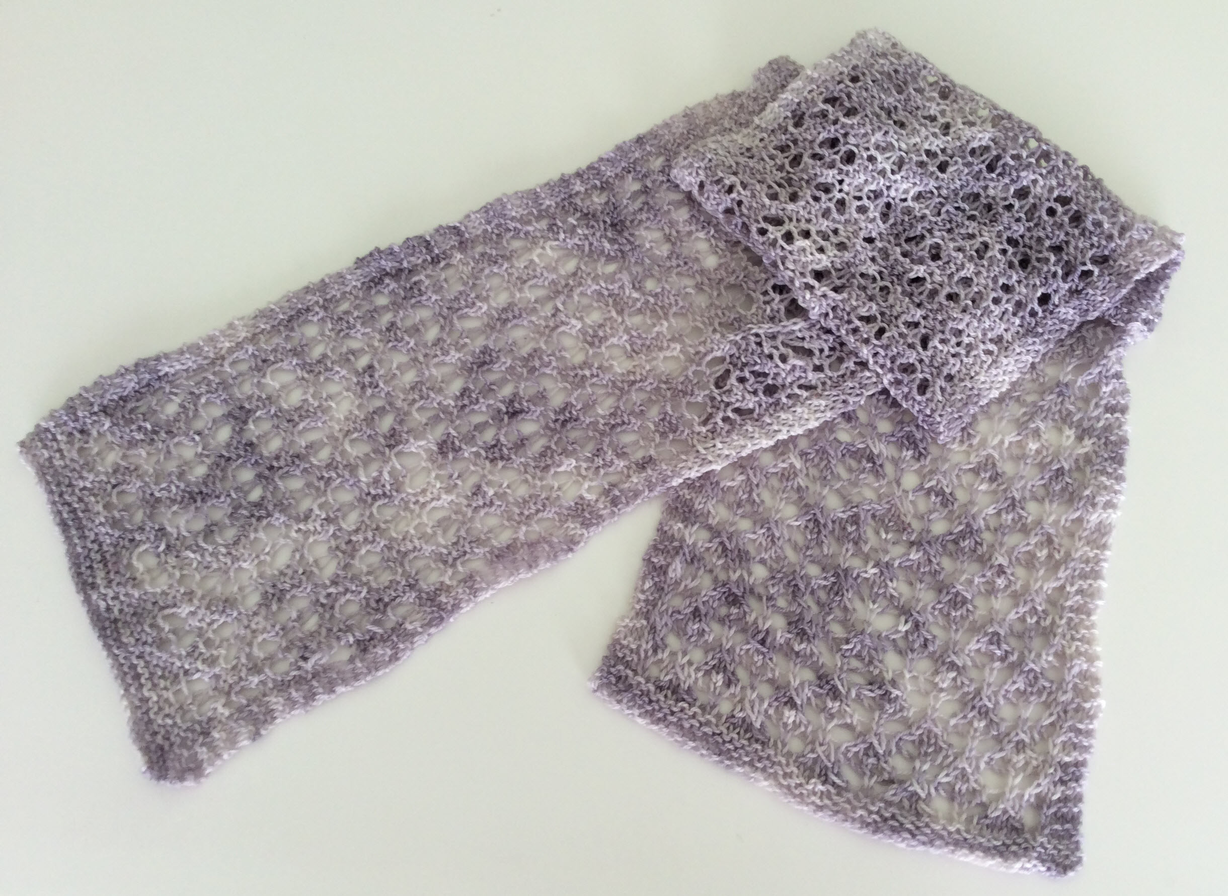 Lace Knitted Scarf Flicstar Studios